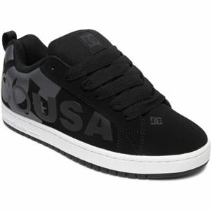 DC COURT GRAFFIK SE černá 8.5 - Pánská volnočasová obuv