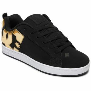 DC COURT GRAFFIK J SHOE černá 8 - Dámská volnočasová obuv
