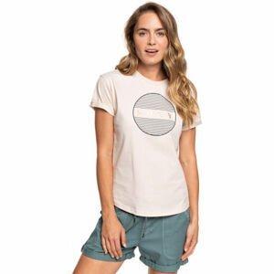 Roxy EPIC AFTERNOON CORPO béžová M - Dámské tričko