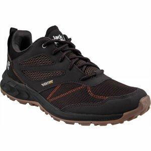 Jack Wolfskin WOODLAND VENT LOW černá 7 - Pánská turistická obuv