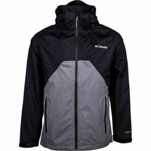 Columbia RAIN SCAPE JACKET černá S - Pánská bunda