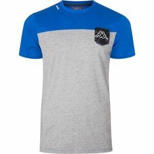 Kappa LOGO KLETO šedá M - Pánské tričko