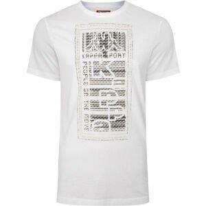 Kappa LOGO BISTAMP bílá L - Pánské tričko