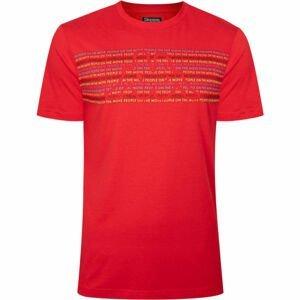 Kappa LOGO BOPER červená L - Pánské triko