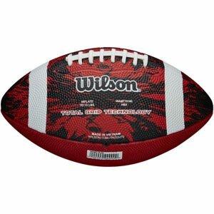 Wilson DEEP THREAT RED JR  NS - Míč na americký fotbal