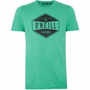 O'Neill PM SURF COMPANY HYBRID T-SHIRT zelená M - Pánské tričko