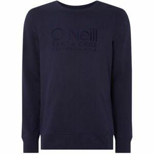 O'Neill LM ONEILL LOGO CREW SWEAT tmavě modrá S - Pánská mikina