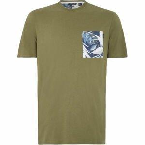 O'Neill LM KOHALA T-SHIRT zelená M - Pánské tričko