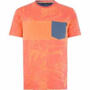 O'Neill LM PALI T-SHIRT oranžová L - Pánské tričko