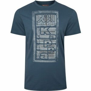 Kappa LOGO BISTAMP modrá M - Pánské tričko