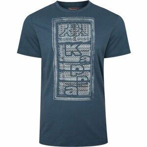 Kappa LOGO BISTAMP modrá XL - Pánské tričko