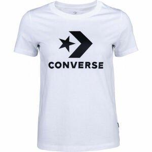 Converse STAR CHEVRON TEE bílá M - Dámské tričko