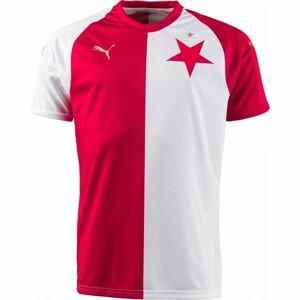 Puma SK SLAVIA HOME PRO bílá XS - Originální fotbalový dres