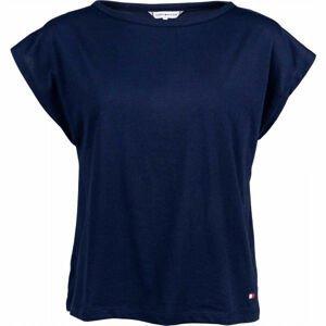 Tommy Hilfiger T-SHIRT tmavě modrá M - Dámské tričko