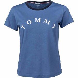Tommy Hilfiger SS TEE SLOGAN  L - Dámské tričko