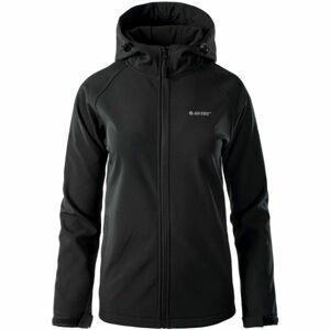 Hi-Tec LADY NETI černá M - Dámská softshellová bunda