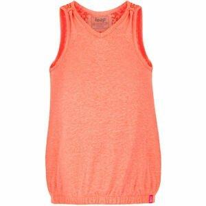 Loap BORKA oranžová 122-128 - Dívčí tílko