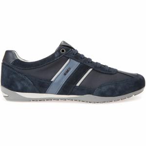 Geox U WELLS tmavě modrá 45 - Pánská volnočasová obuv