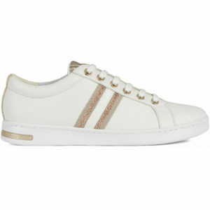 Geox D JAYSEN bílá 39 - Dámská volnočasová obuv