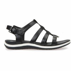 Geox D SANDAL VEGA černá 40 - Dámské sandále