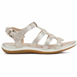 Geox D SANDAL VEGA béžová 38 - Dámské sandále