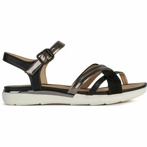 Geox D SANDAL HIVER černá 41 - Dámské sandály