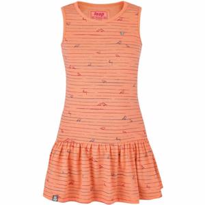 Loap BARISA oranžová 158-164 - Dívčí šaty