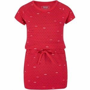 Loap BAULA růžová 146-152 - Dívčí šaty