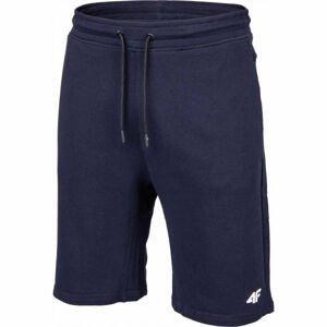 4F MENS SHORTS modrá XL - Pánské teplákové kraťasy