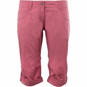 ALPINE PRO KAIURI růžová 40 - Dámské 3/4 kalhoty