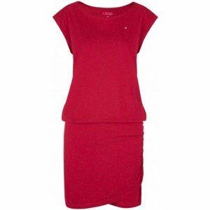 Loap BUKKI růžová XS - Dámské šaty
