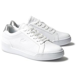 Lacoste CHALLENGE 120 bílá 40 - Dámské kožené tenisky