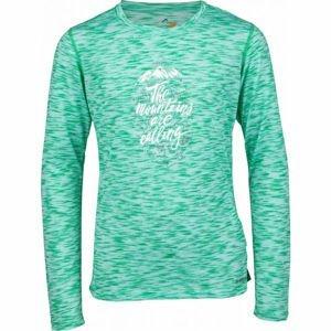 Head MAUI zelená 152-158 - Dívčí triko s dlouhým rukávem