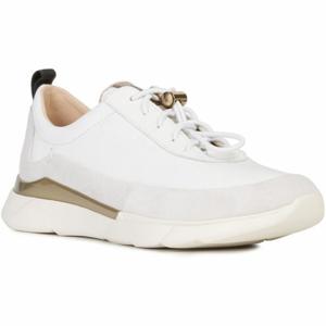 Geox D HIVER D bílá 36 - Dámská volnočasová obuv