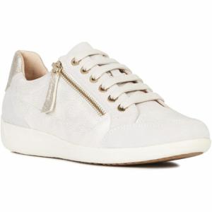 Geox D MYRIA A bílá 37 - Dámská volnočasová obuv
