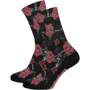 Horsefeathers RANYA SOCKS černá 37,5-38,5 - Ponožky
