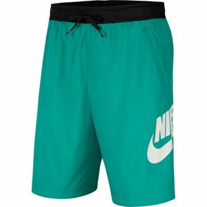 Nike NSW CE SHORT WVN HYBRID M zelená S - Pánské kraťasy