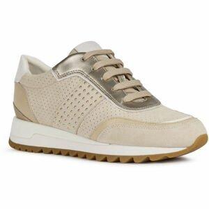 Geox D TABELYA A béžová 40 - Dámská volnočasová obuv