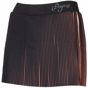 Progress LAMELLA růžová S - Dámská sportovní skládaná sukně