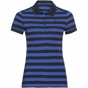Odlo WOMEN'S T-SHIRT POLO S/S CONCORD modrá L - Dámské tričko