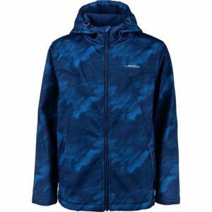 Lewro INAROS modrá 140-146 - Chlapecká softshellová bunda