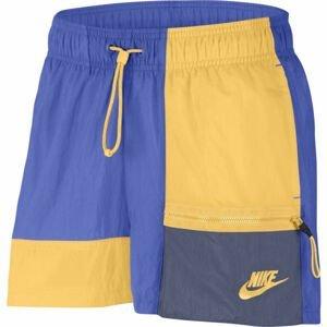 Nike SPORTSWEAR modrá L - Dámské šortky