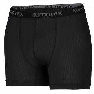 Klimatex BAX černá M - Pánské funkční boxerky