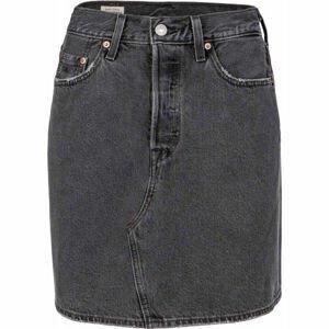 Levi's HR DECON ICONIC BF SKIRT CORE  27 - Dámská riflová sukně