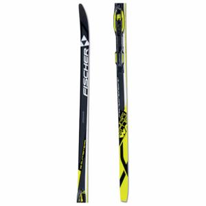 Fischer SUPREME WAX + CONTROL STEP IN IFP  204 - Běžecké lyže na klasiku s hladkou skluznicí