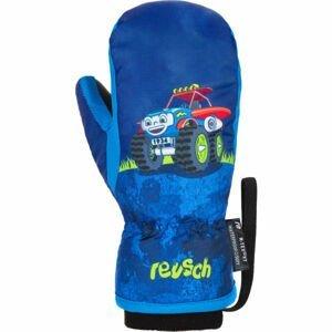 Reusch FRANCI R-TEX XT MITTEN modrá 4 - Dětské zimní rukavice