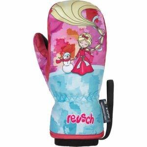 Reusch FRANCI R-TEX XT MITTEN růžová 3 - Dětské zimní rukavice