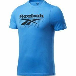 Reebok GS OPP TEE modrá L - Pánské triko