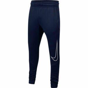 Nike THERMA GFX TAPR PANT B  S - Chlapecké tréninkové kalhoty