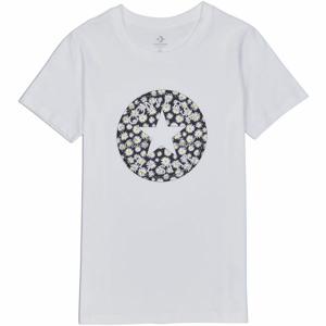 Converse WOMENS CHUCK PATCH DAISY INFILL CLASSIC TEE  XS - Dámské tričko